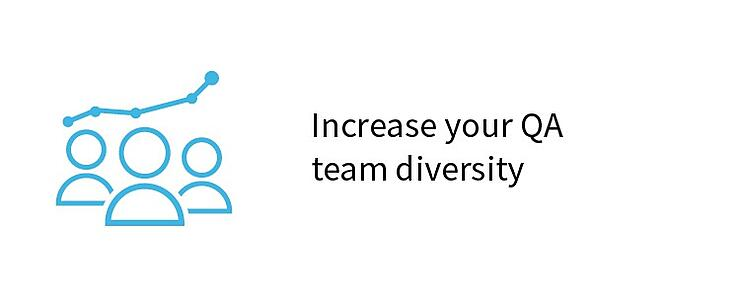 Increase your QA team diversity
