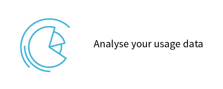 Analyse your usage data