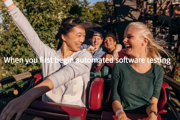Automated Software Testing Starts out Great!