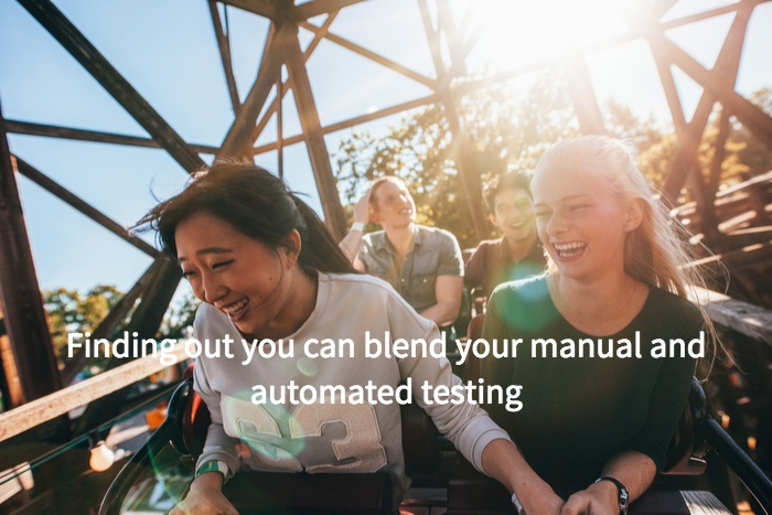 Blending Automated Manual Testing