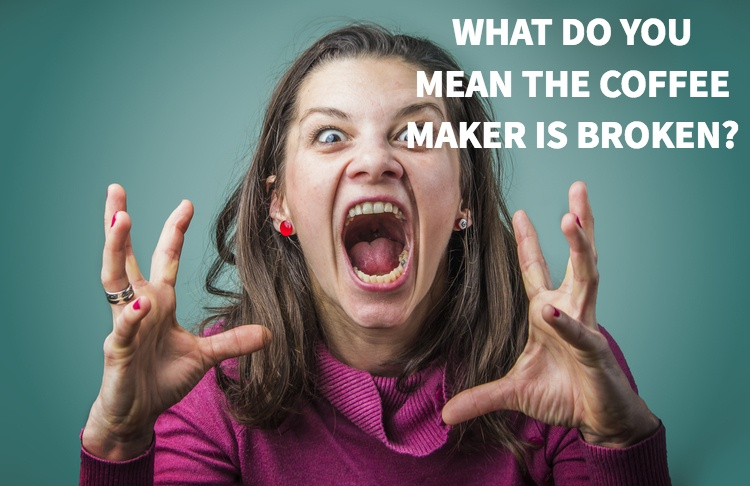 Broken Coffee Makers and App Testing?
