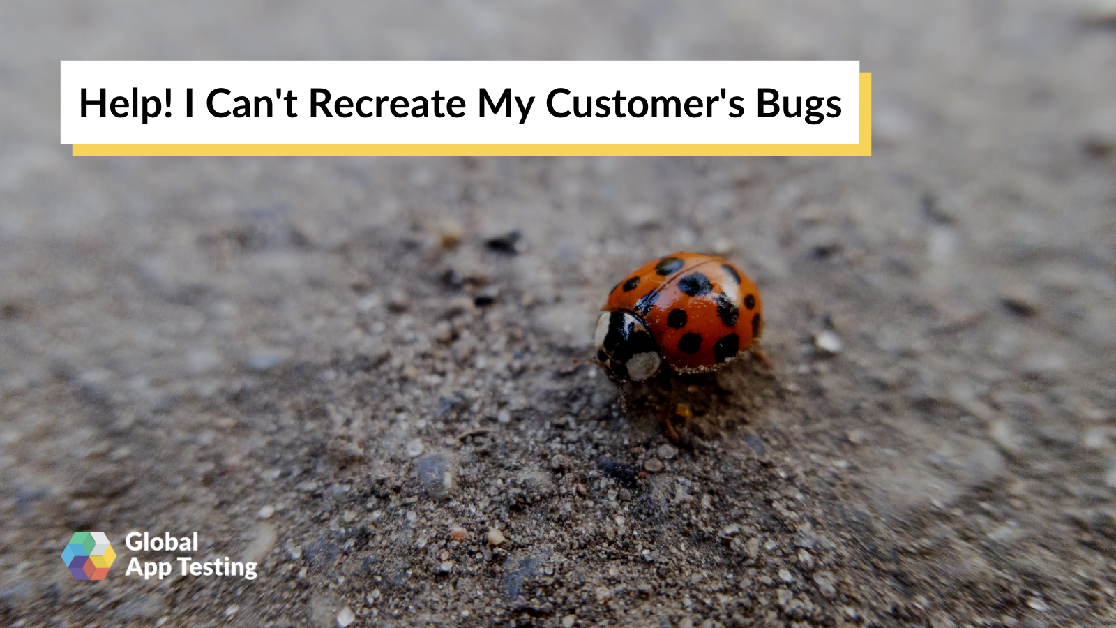 Recreate Customer Bugs