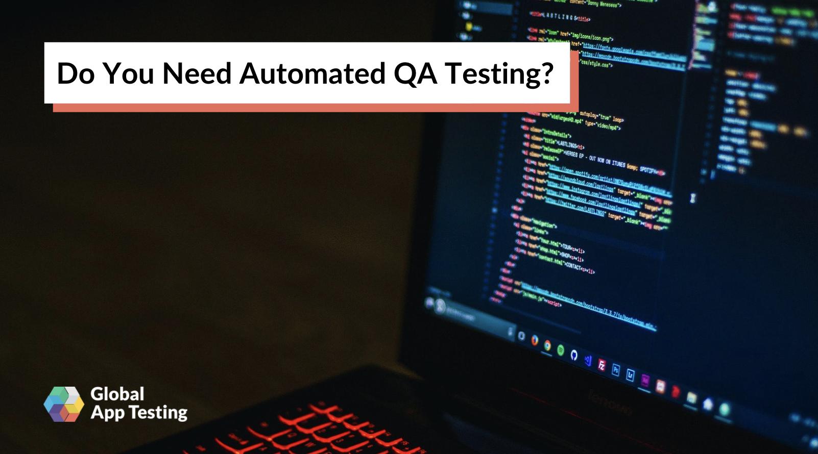 Automated QA Testing