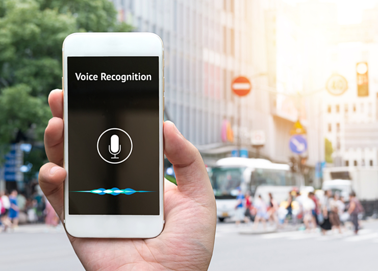 internet usage and the icrease of voice recognition