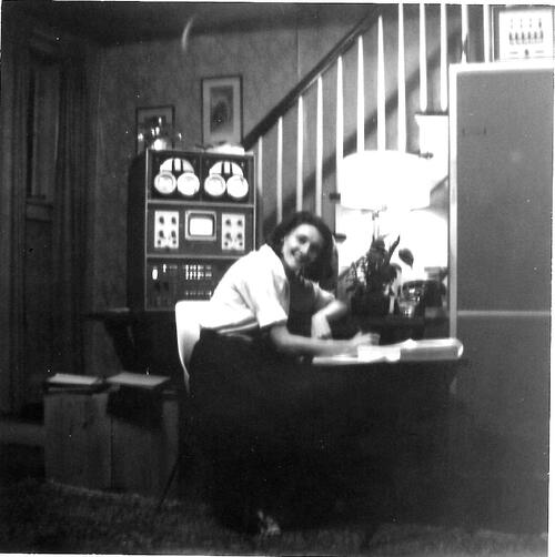 Mary Wilkes at home
