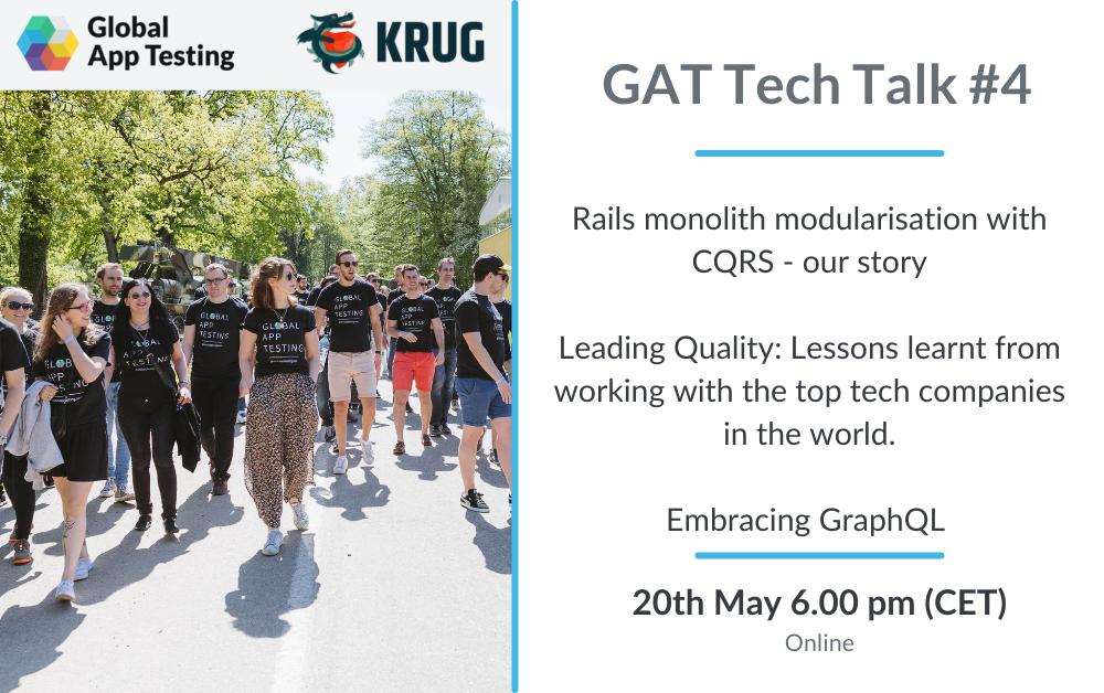 GAT TechTalk #4 (DDD in Ruby) - 20th May 2021