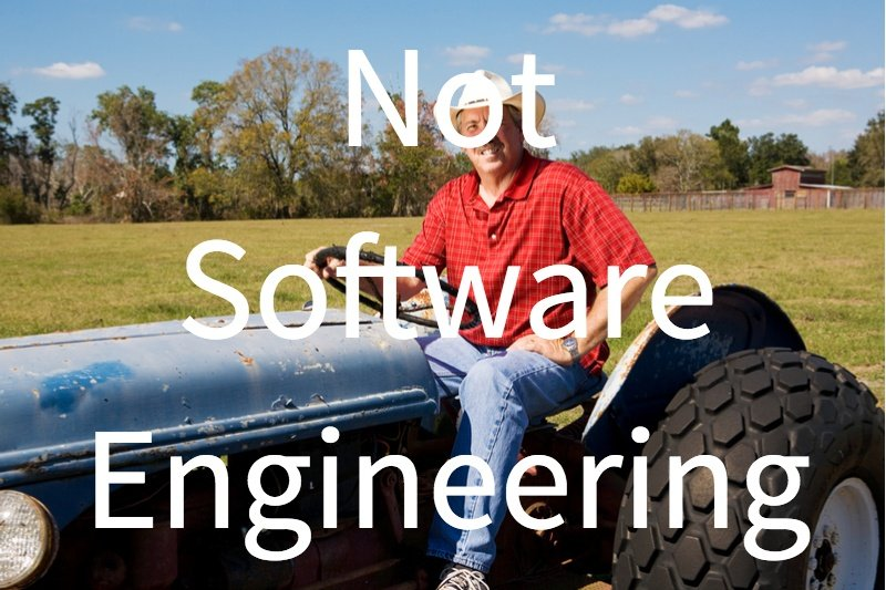 Software Development vs. Manufacturing