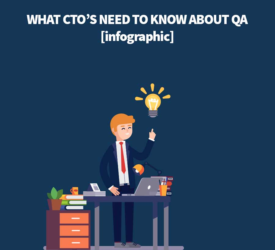 What CTO's MUST know about QA in 2018 [infographic] by