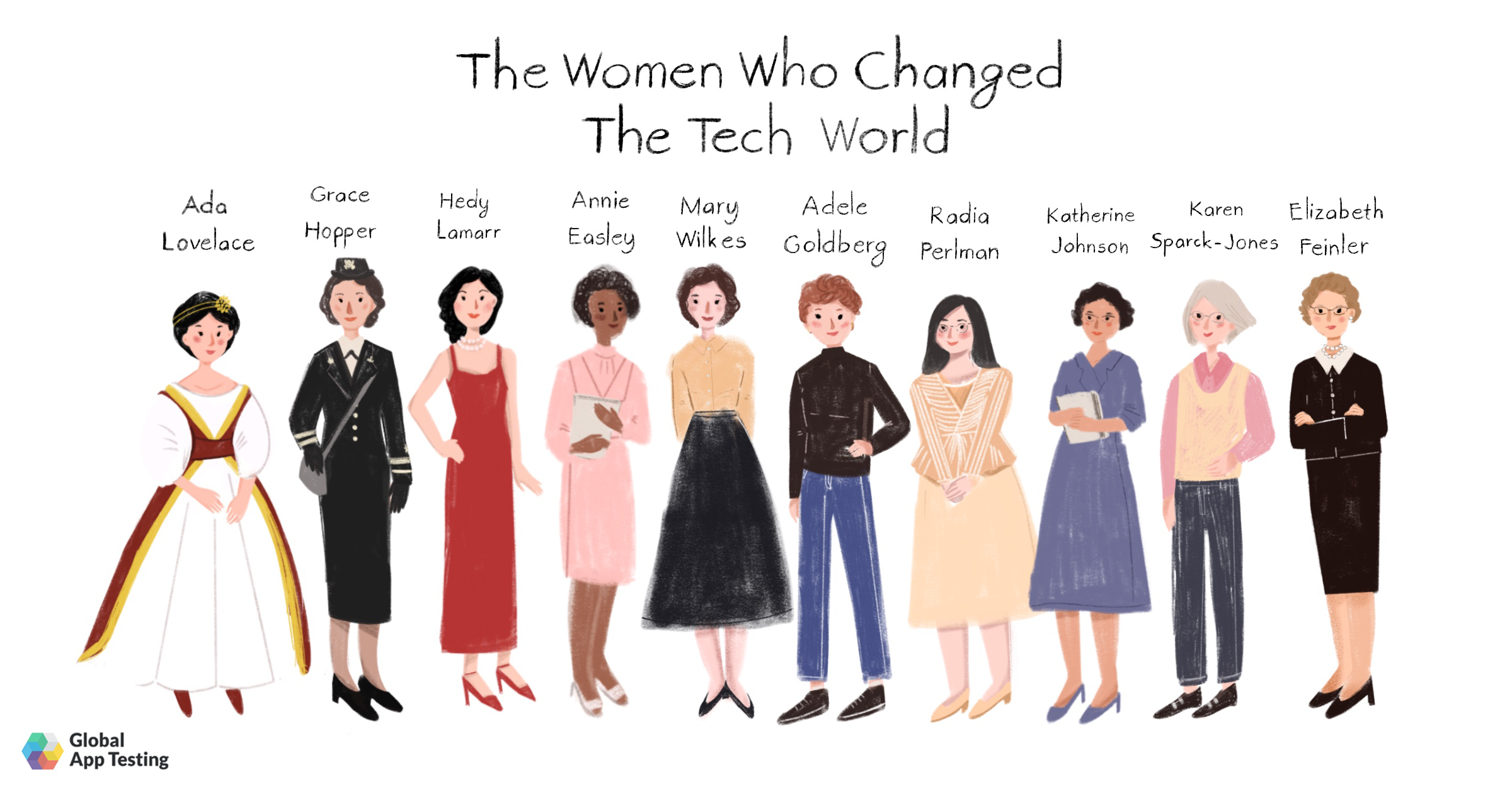 The Women Who Changed The Tech World