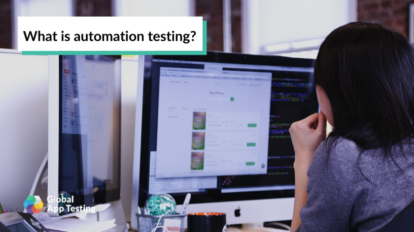 What is automation testing?