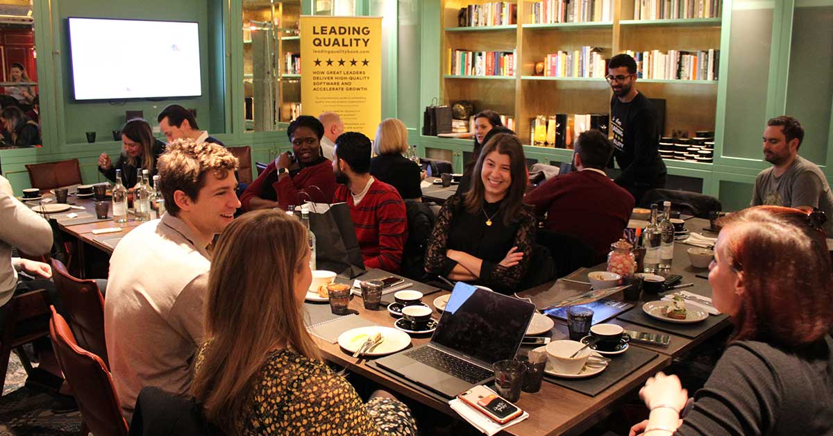 The Quality Leaders Network EdTech 'Breakfast of Champions'